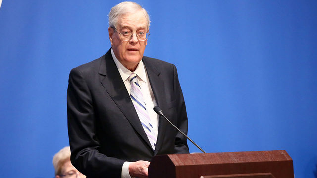 Billionaire David Koch, conservative donor, dies at age 79