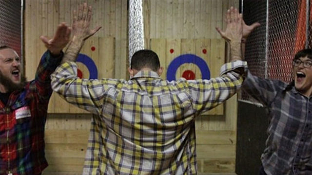 Gun range overrated? Indoor ax throwing range opens in Houston