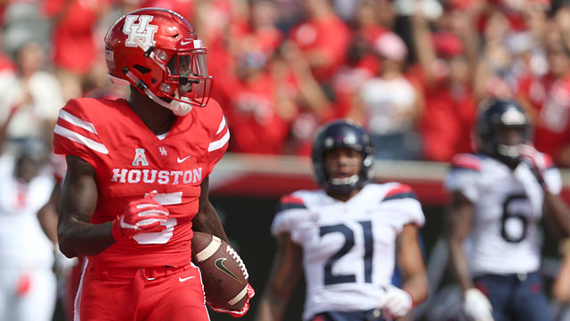 7 questions with University of Houston wide receiver Marquez Stevenson