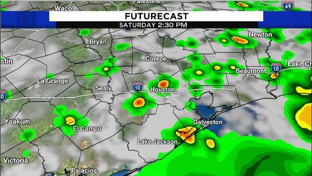 Rain on the way for Saturday