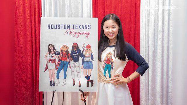 Rongrong DeVoe creates new line of merchandise for Houston Texans fans