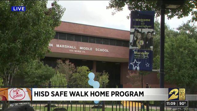 HISD Safe Walk Home Program