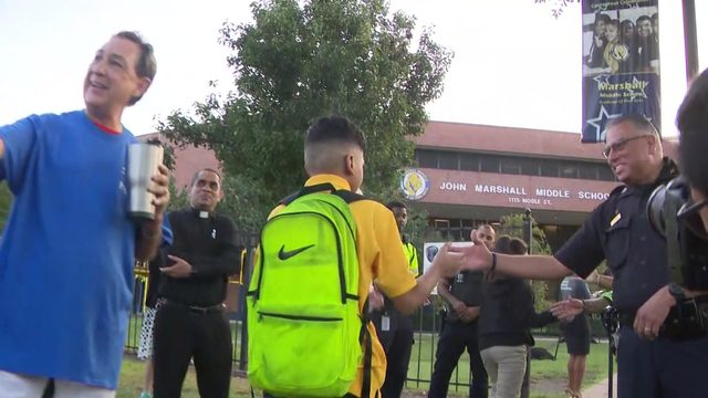 Program honors Josue Flores, aims to keep students safe while walking…