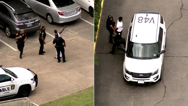 Chase ends with 2 in custody in southwest Houston