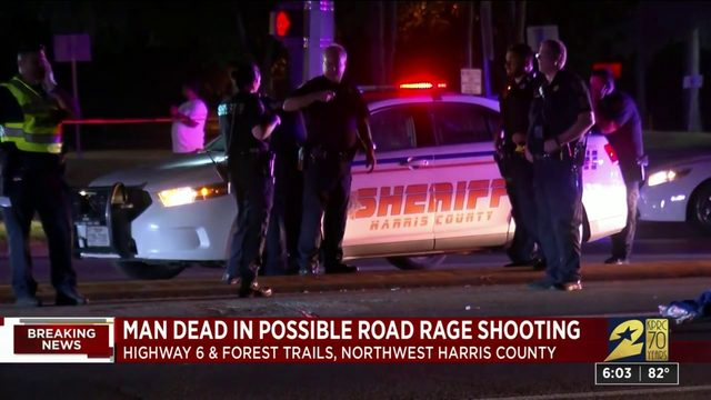 Man dead in possible road rage shooting