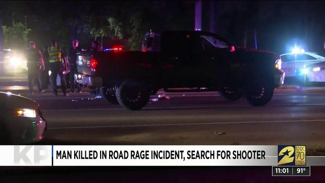 Man killed in road rage incident