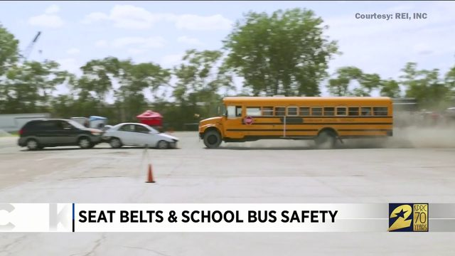 Seat belts and school bus safety