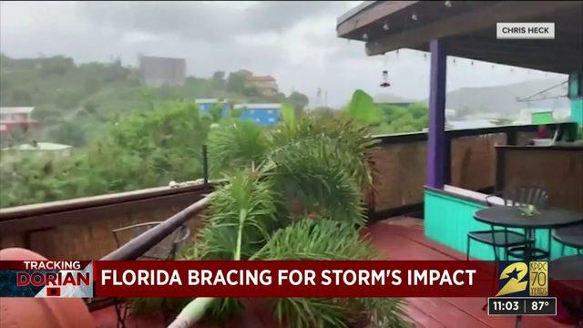 Florida bracing for storm's impact