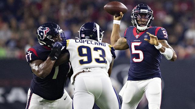 Texans fall to Rams 22-10 in final preseason game