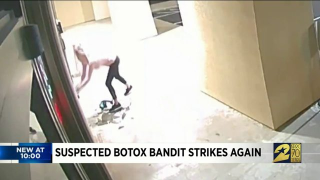Suspected Botox bandit strikes again