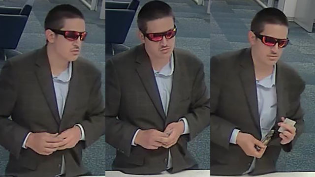 FBI searching for accused Houston bank robber dubbed the Dapper Desperado