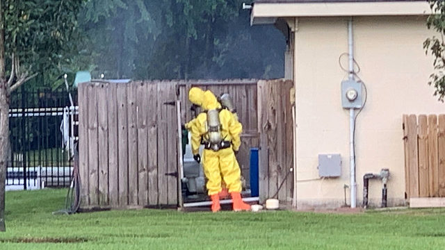 Chemical leak investigated in Atascocita neighborhood