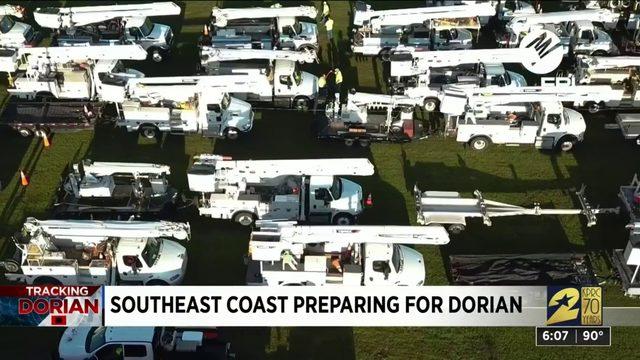 Southeast Coast Preparing for Dorian