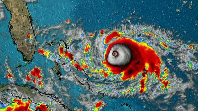 Category 4 Dorian bears down on Bahamas en route to US