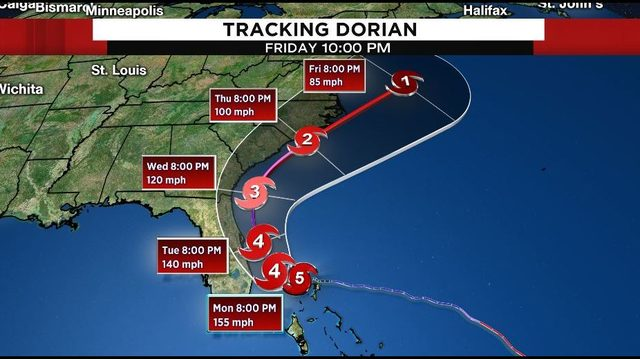 Florida Bracing For Dorian