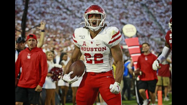 PHOTOS: Houston Cougars take on Oklahoma Sooners