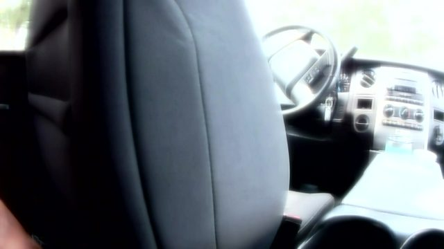'I just felt fear': Woman finds stranger randomly sitting in backseat of her car