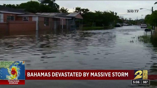 Bahamas devastated by massive storm