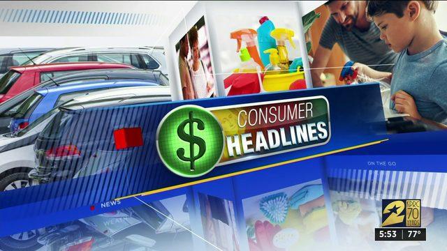 Consumer headlines for Sept. 3, 2019