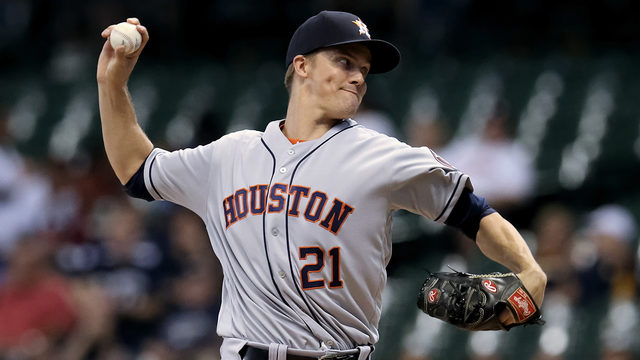 Greinke loses 1st with Astros  as Brewers top Houston 4-2