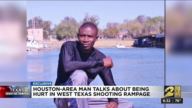 Katy man recalls being shot during West Texas mass shooting rampage