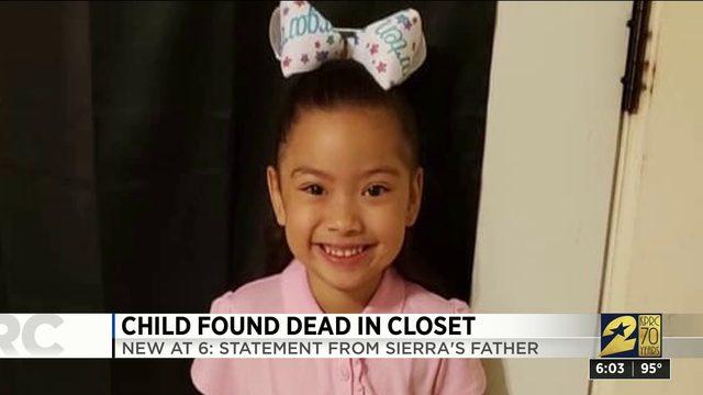 Child found dead in closet