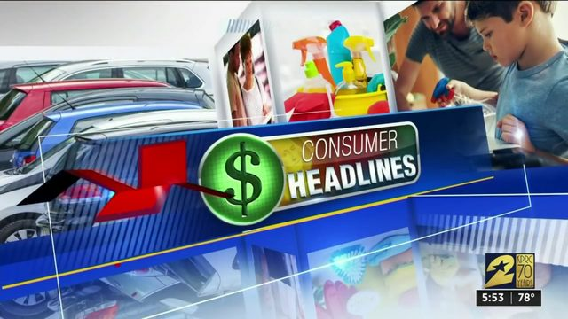 Consumer headlines for Sept. 4, 2019