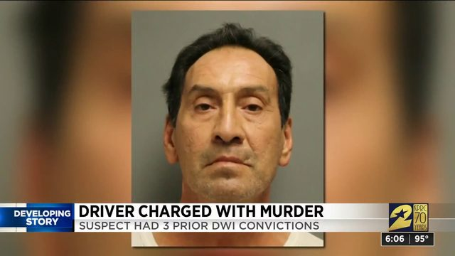 Driver charged with murder