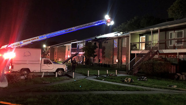 Several units damaged in apartment fire