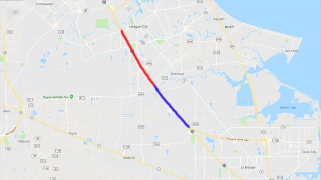 I-45 expansion is making its way to the coast