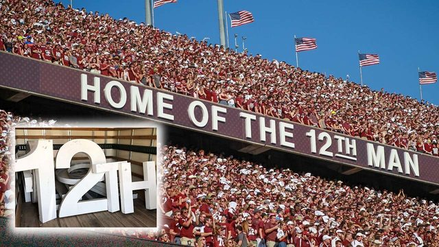 'Home of the 12th Man' letters auction ending: How much will be raised…