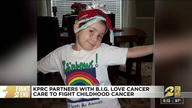 KPRC partners with B.I.G. Love Cancer Care to fight childhood cancer