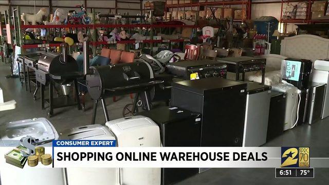 Shopping online warehouse deals