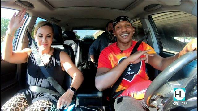 Meet Houston rideshare rapper Smitty Spread Luv | HOUSTON LIFE | KPRC 2