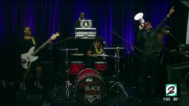 The Queen Cora Orchestra performs live on Houston Life