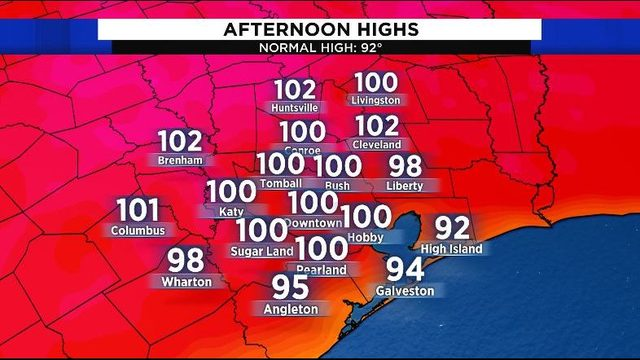 Scorching weekend ahead as heat wave continues