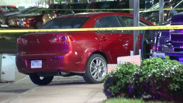 Driver dies after car shot up in southwest Houston