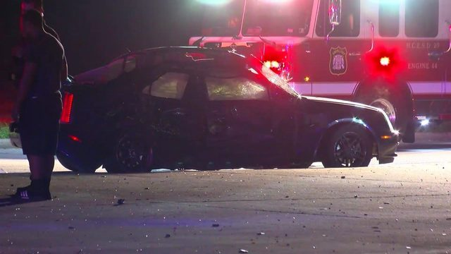 Child critically injured in northwest Harris County crash