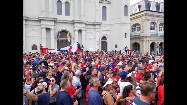 PHOTOS: Fans travel to New Orleans ahead of Texans-Saints game