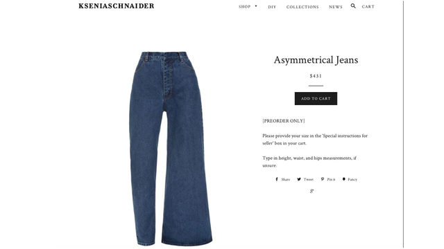 Asymmetrical jeans: Fashion abomination or trend worth trying? The…