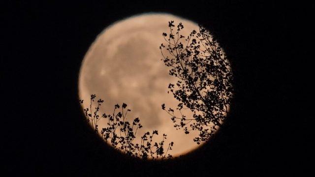 Rare full moon to move across sky this weekend