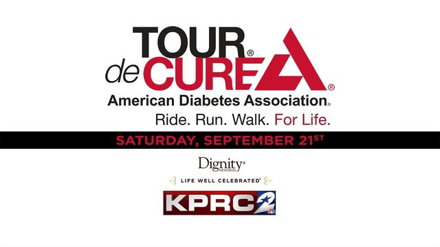 Join KPRC 2 and the American Diabetes Association for the 2019 Tour de Cure