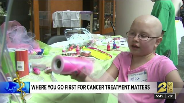 Where you go first for cancer treatment matters