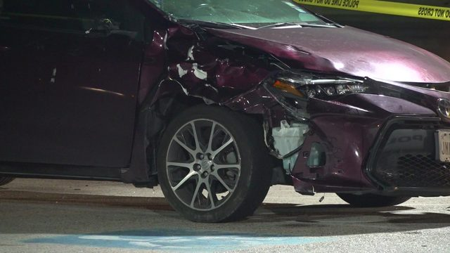 Driver flees scene after hitting, killing one man, injuring another, police say