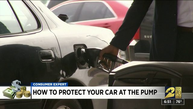 How to protect your car at the pump