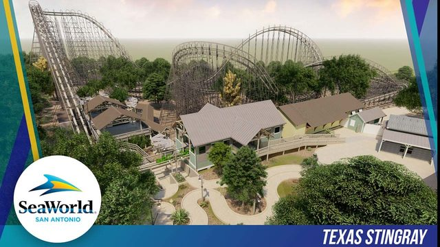 SeaWorld San Antonio touts plans for tallest, fastest and longest wooden…