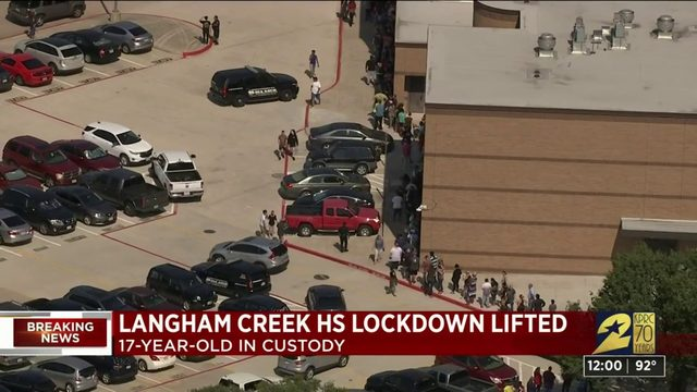 Armed teen found at Cy-Fair ISD school after lockdown, source says