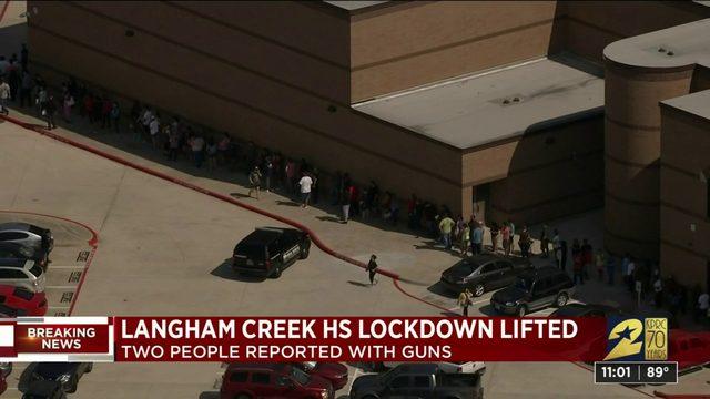 Langham Creek High School lock down lifted