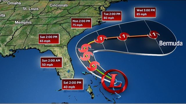 Tropical system that was headed for Gulf now expected to stay in Atlantic