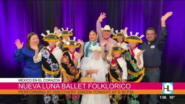 Nueva Luna Ballet Folkorico Performing at Discovery Green | HOUSTON LIFE…
